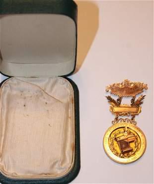 Super 14k Gold Medal