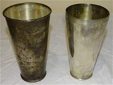 (2) International Sterling Silver Shakers