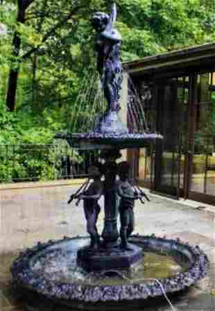 2 Tier Garden Fountain