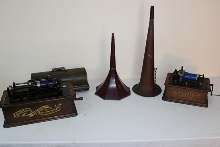 Edison Home and Standard Victrola's