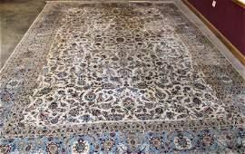 Large Signed 17ft Palace Size Persian Rug