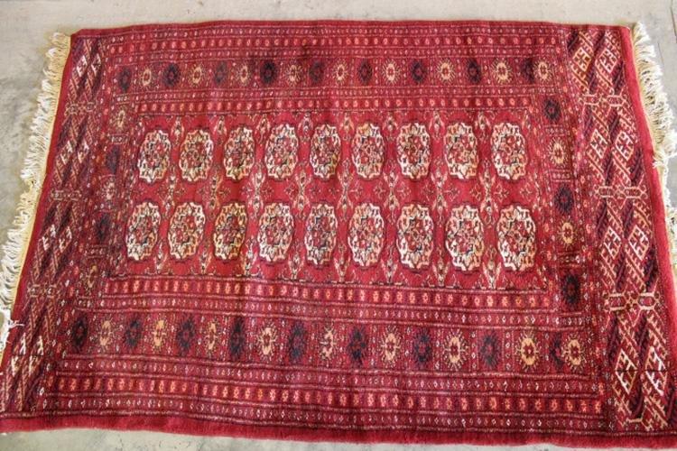 Nice Smaller Bokhara Oriental Rug