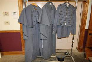 3 West Point Coats and Caps