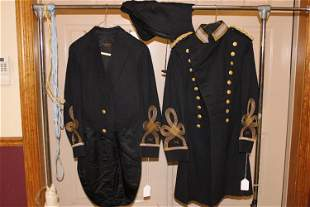 2 Early West Point Cadet Coats and Hood