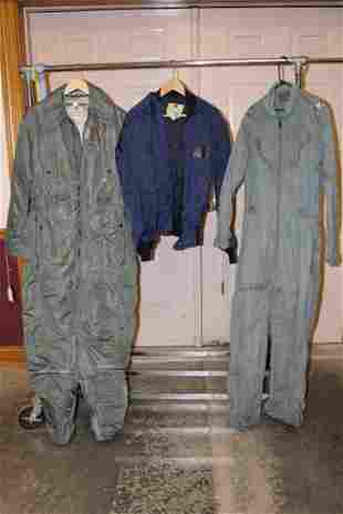 2 Flight Suit and Flight Jacket Owned by General John