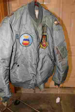 Flight Jacket Owned by John Bartholf