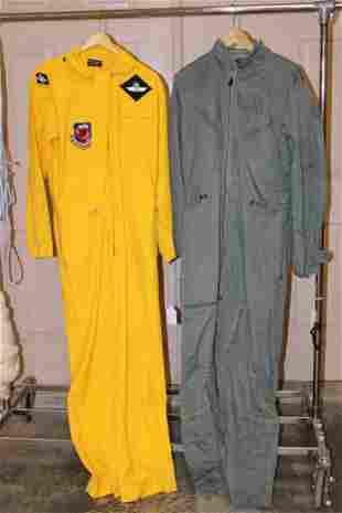 2 Flight Suits Owned by John Bartholf