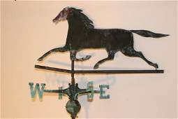 Antique Running Horse Weathervane