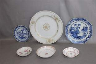 6 Pieces of 18th C. Oriental