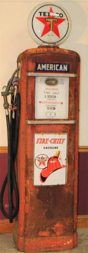 Original Texaco Gas Pump