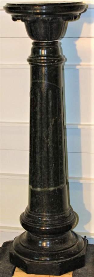 Super Victorian Marble Pedestal