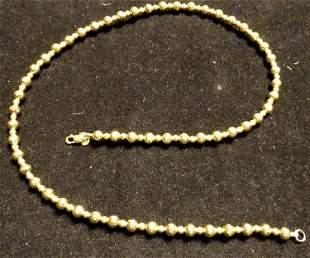 """Nice 16"""" 14k Gold Necklace"""