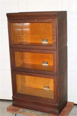 Oak Hale 3/4 Size Stacking Bookcase
