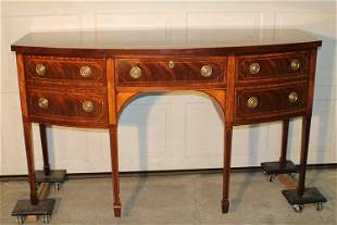 """Signed """"Baker"""" Inlaid Sideboard"""