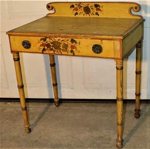 Super Period Writing Table in Original Paint