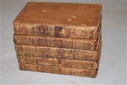 5 Volumes of the Works of Lord Byron 1823