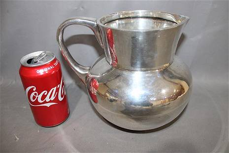 Heavy 40 Troy Oz Sterling Silver Water Pitcher