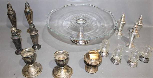 15 Pieces of Weighted Sterling Silver
