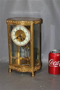 Fancy French Crystal Regulator Clock