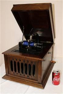 Clean Edison Amerola Mahogany Victrola
