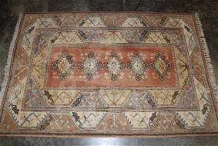 Hand Made Turkish Rug with Thick Pile