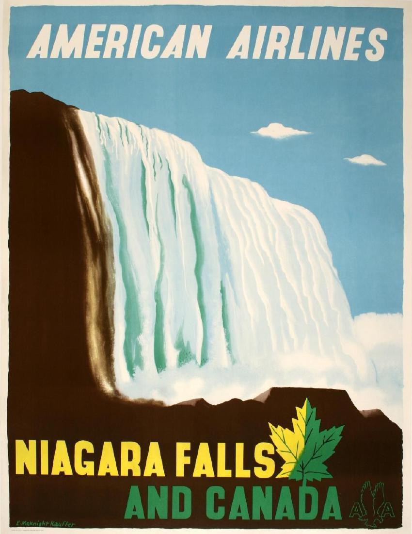 AMERICAN AIRLINES - NIAGARA FALLS BY EDWARD MCKNIGHT