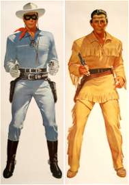 SET: THE LONE RANGER AND TONTO ORIGINAL VINTAGE POSTERS