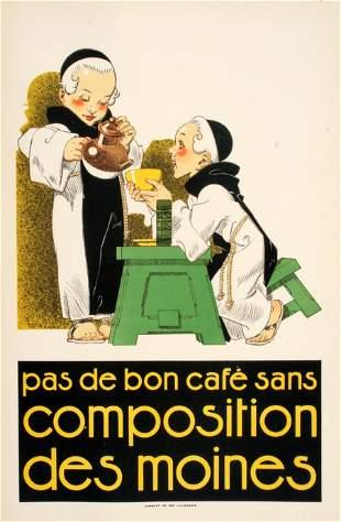 Original 1925 French Vintage Poster by Rene Vincent -