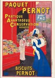 Leonetto Cappiello Paquet Pernot Original poster 1912