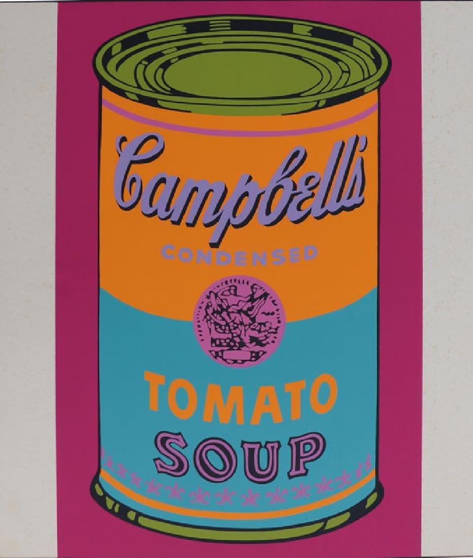 Andy Warhol  Campbells Tomato 1968 Screen print
