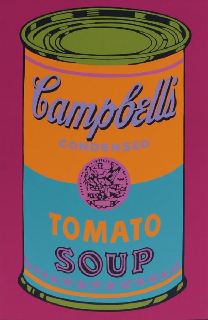 Andy Warhol  Campbells Tomato 1968 Screen print - 2
