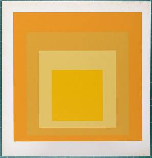 Josef Albers (after)- Homage to the Square, 1968