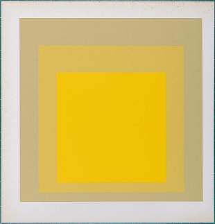 Josef Albers - Homage to the Square, 1968