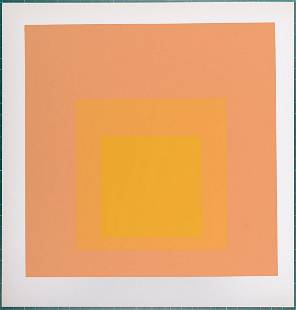 Josef Albers (after) - Homage to the Square, 1968