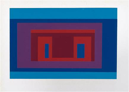 Josef Albers (after) - 10 Variants, 1968