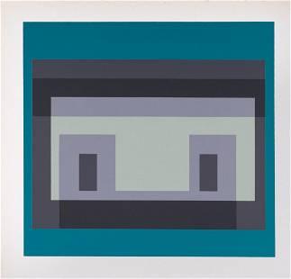 Josef Albers - 10 Variants, 1968
