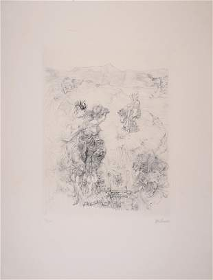 Hans Bellmer - Paysage 1700, c. 1965