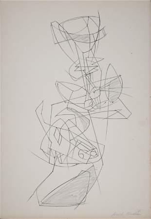 Walter Bodmer - Untitled, 1965
