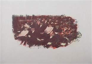 Pierre Bonnard - Au Theatre, 1899