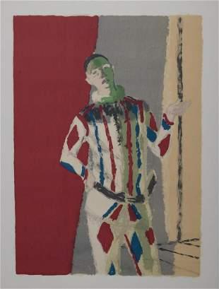 Maurice Brianchon - Arlequin, 1973