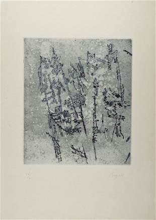 Camille Bryen : Composition, 1958