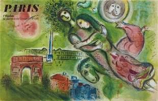 Marc Chagall (After) - Romeo et Juliette, 1964