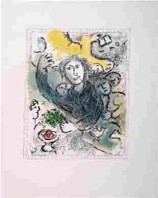 Marc Chagall - Artiste II, 1978