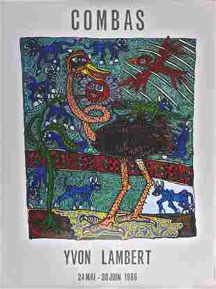 Robert Combas - Yvon Lambert, 1986