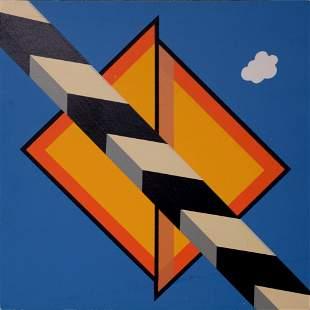 Allan D Arcangelo - Untitled, 1969 (Banner ed.)
