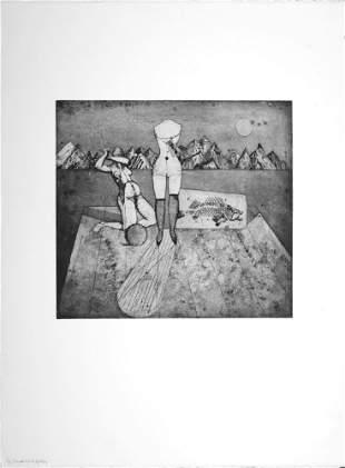 G.-J. Friedlaender (After) - Le mannequin, 1995