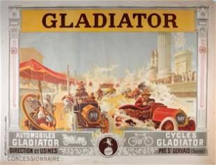 Henri Gray - Gladiator Automobiles,Cycles, C1903