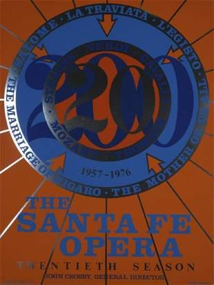 Robert Indiana - Santa Fe Opera, 1976