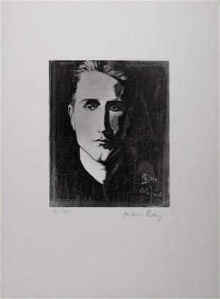 Man Ray - Marcel Duchamp, 1971 - Hand signed