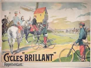 Maurice Marodon - Cycles Brillant, C. 1902